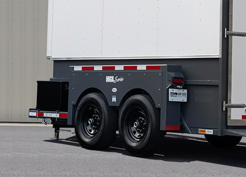 Enclosed Drop Deck Trailer